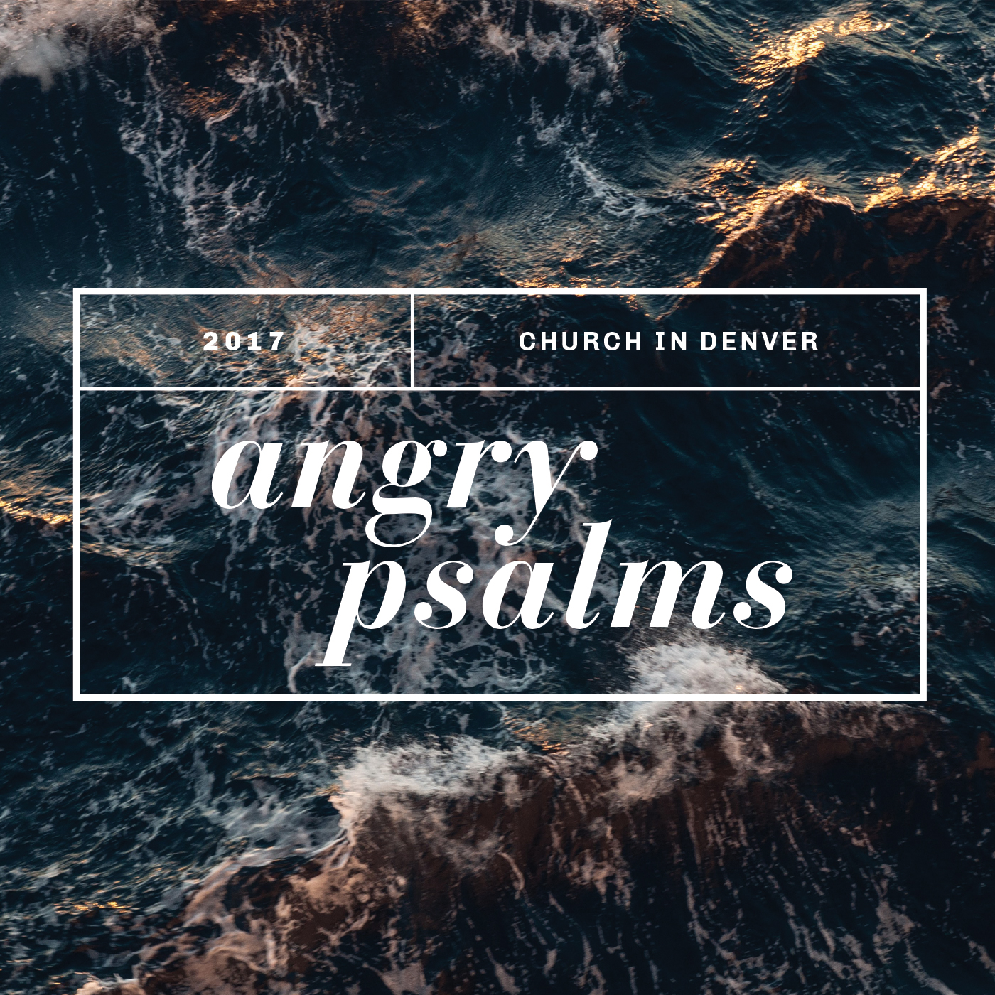 Angry Psalms 2017