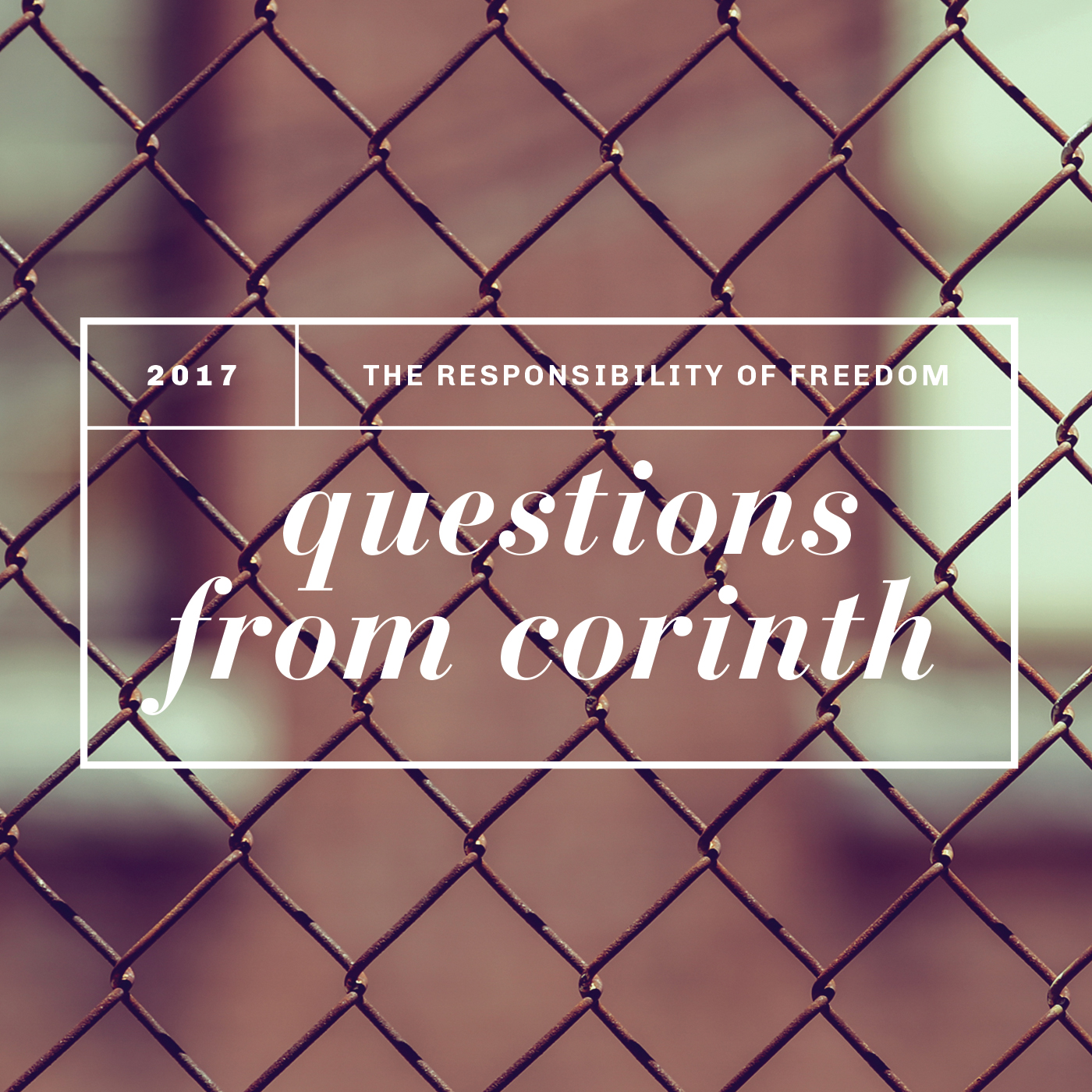 Questions from Corinth 2017